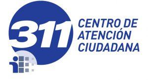 Logotipo con enlace a sitio web de 311