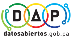 Logotipo con enlace a sitio web de datos abiertos